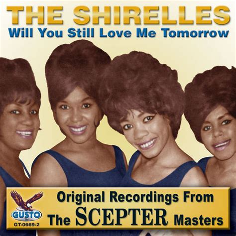 Will You Still Love Me Tomorrow Album Cover By The Shirelles
