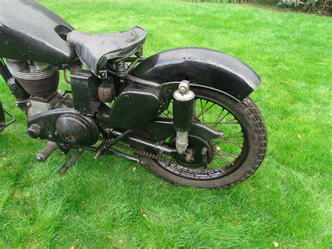 1954 Ajs Model 18 500cc Single Project. V5c. Jampot Model