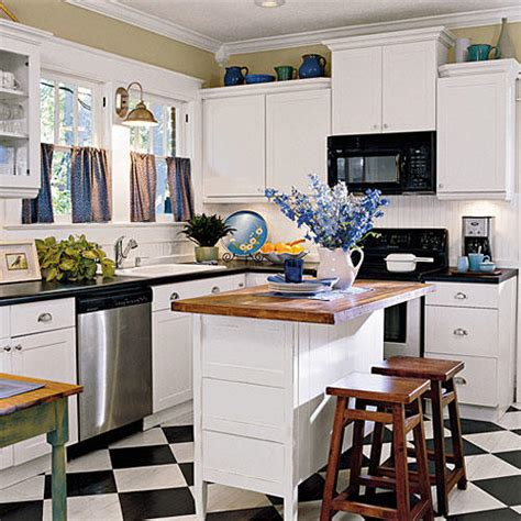 white cottage kitchens our best cottage kitchens southern living 1019