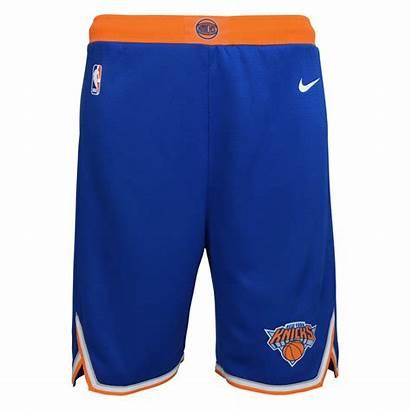 Knicks York Shorts Nba Nike Swingman Icon