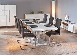 table de salle manger edmonton blanche galerie et table de With salle À manger contemporaineavec table de salle manger design