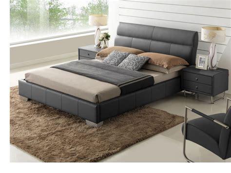 site canapé lit wanda 160x200cm cuir de buffle blanc ou noir