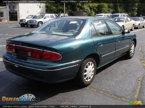 1998 Buick Century by 1998 Buick Century Custom Jasper Green Metallic Taupe