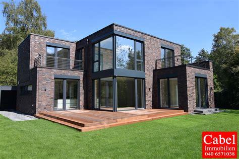 Haus Mieten Hamburg Bergstedt repr 228 sentative 6 zi neubau rotklinker villa im