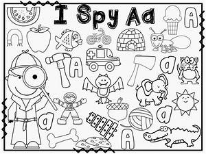 I spy letter activities for every letter of the alphabet ...