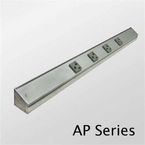 under cabinet outlet strips kitchen ap series power strips vanity cabinet recharging