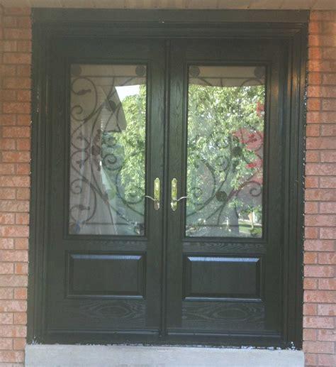 Wood Grain Fiberglass Exterior Doors