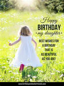 Happy Birthday Daughter Wishes