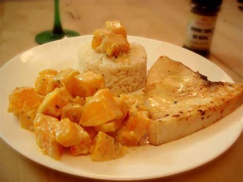 cuisiner espadon espadon coco butternut et poivre timut ou comment