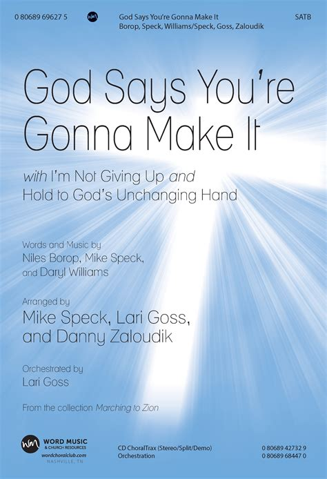 God Says You're Gonna Make It