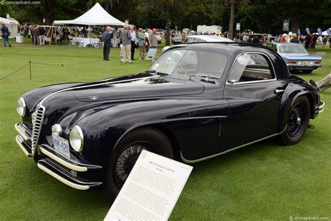 1948 Alfa Romeo 6c 2500 At The Concours D'elegance Of
