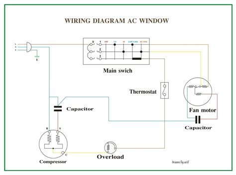 Wiring Diagram Window Refrigeration Air Conditioning