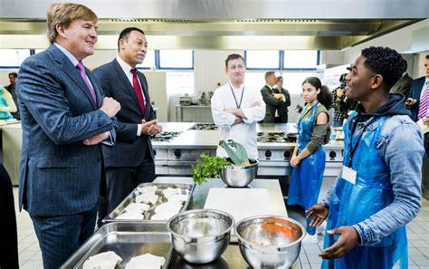 cuisine pays bas le roi des pays bas en cuisine noblesse royautés