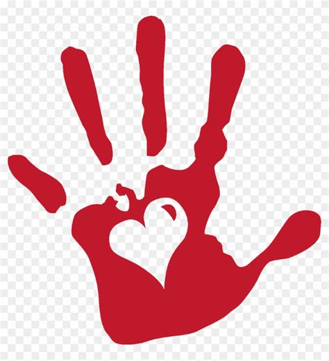 Handprint Clipart Handprint Clipart Helping Helping Transparent