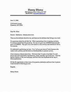 A business letter example the letter sample for Business cover letter