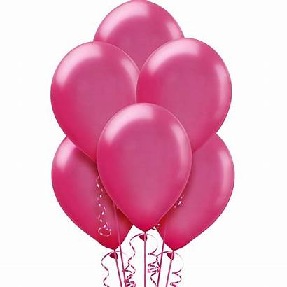 Pink Balloons Bright Pearl 72ct Party Partycity