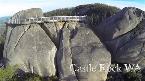 castle rock granite skywalk porongurup nation park wa