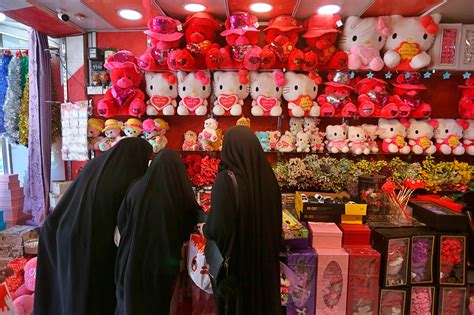 Valentine's Day brings love and some worry in Iraq holy ...