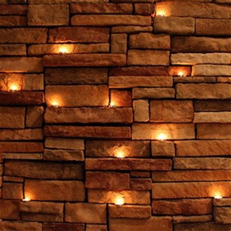 light bulb brick wall 26 tea lights compose journal