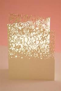 chartula fairytale bespoke laser cut invitation luxury With bespoke laser cut wedding invitations uk