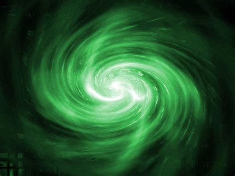 Green Galaxy Swirl Background Image, Wallpaper Or Texture