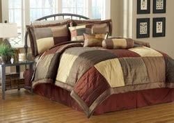 7 catherine flocking black and comforter set