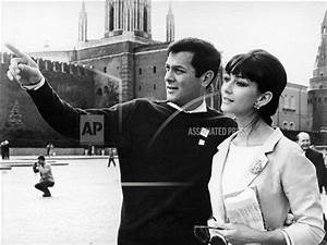 Russia Moscow Tony Curtis and Christine Kaufmann | Buy ...