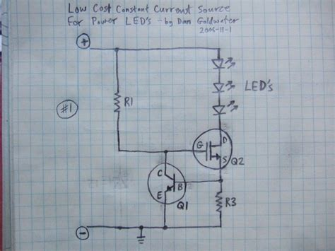 High Power Led Driver Circuits Steps With Pictures
