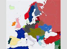Aftermath of World War I Central Victory Alternative