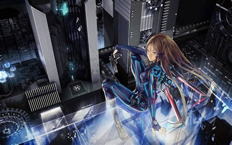 Sci Fi Anime Wallpaper - in the year 2060 ace in an alternate universe on an