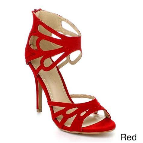 shop liliana joary  womens ankle wrapped high heels