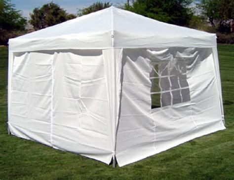 10 x 10 canopy with walls 10 x 10 palm springs ez pop up white canopy gazebo tent