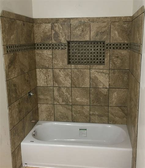 Tiling A Tub Shower by Gallery Of Custom Showers Flooring Masters