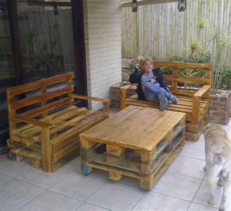 home dzine home diy diy outdoor pallet furniture