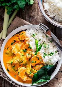 Thai Red Chicken Curry - Jo Cooks