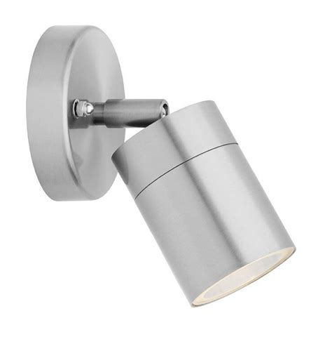 adjustable wall light stainless steel outdoor use with led