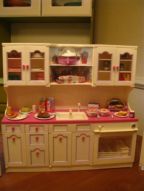 lets  candid day care barbie kitchen barbie doll