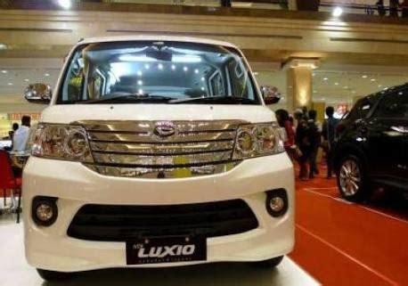 Harga Cicilan Daihatsu Luxio 2019 Di Manado