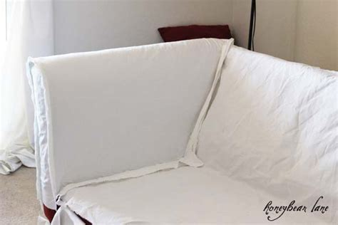 How To Cover Sofa by How To Make A Slipcover Part 1