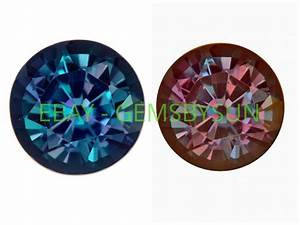 Lab Created Pulled True Alexandrite Color Change Round ...