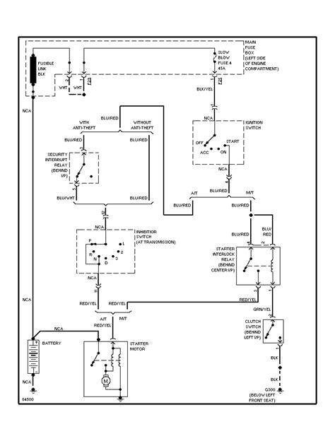 2004 Subaru Legacy Electrical Diagram by I A 1998 Subaru Legacy Outback I Ordered A Starter