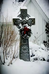Celtic Winter Cross