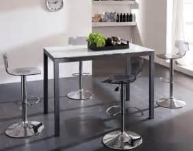 table de bar table haute l accessoire moderne avec un propre caract 232 re