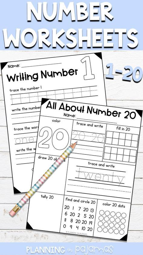 practice writing numbers   worksheet schematic