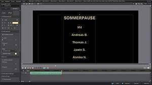 Bitrate Berechnen : schnitt workshop iii ton filmabspann und filmexport ~ Themetempest.com Abrechnung
