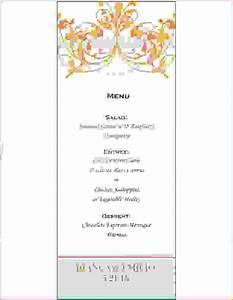 fancy restaurant menu templates With fancy dinner menu template