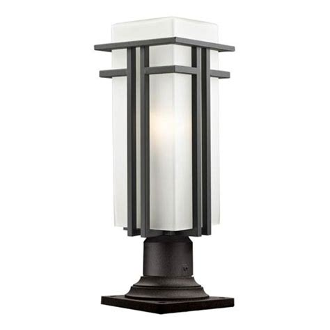 pier mount outdoor post lighting bellacor