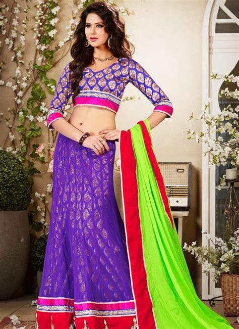 top best blouse designs for lehanga choli or half sarees