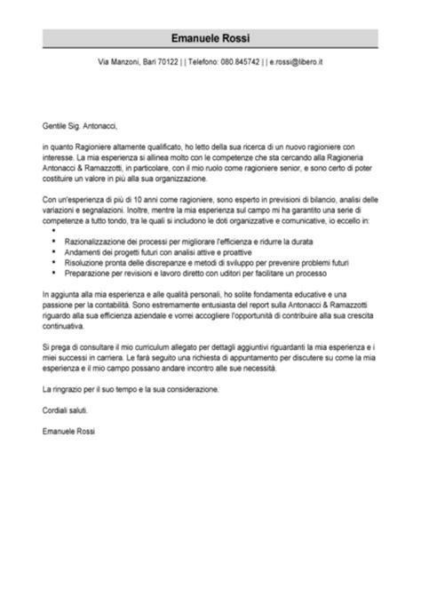 impostare una lettera  presentazione aziendale