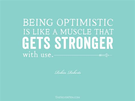optimistic    muscle   stronger